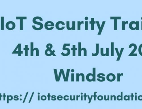 IoT Security Foundation Announces IoT Security Training Program